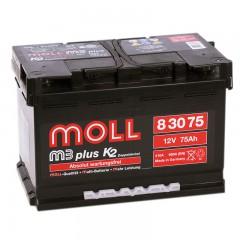 MOLL M3 Plus 75А/ч о.п.