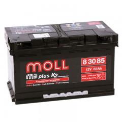 MOLL M3 Plus 85А/ч о.п.