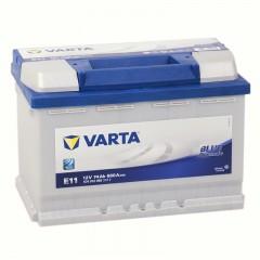 Varta Blue Dynamic 74А/ч  574 012 068 (E11)