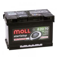 MOLL  EFB Start Stop 70А/ч о.п.