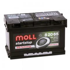 MOLL  EFB Start Stop 65А/ч низкий о.п.