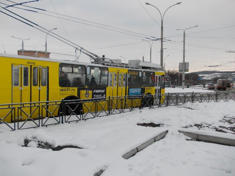 Троллейбус Тандем СК
